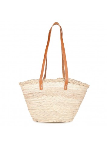 CAPAZ22 66946 BOLSO DE MUJER COLOR NATURAL